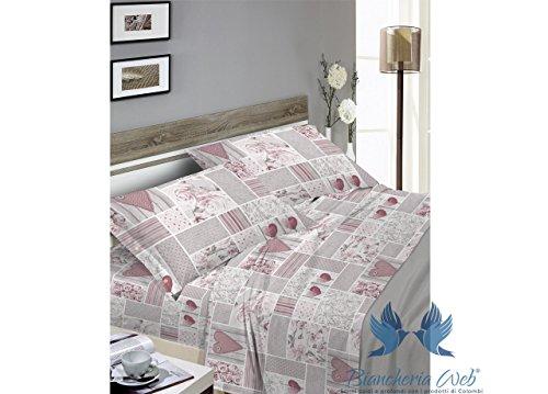 ee9c642236 Tex Bettwäsche aus 100% Baumwolle, für französisches Bett, Position