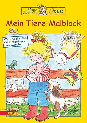 Conni Gelbe Reihe: Mein Tiere-Malblock