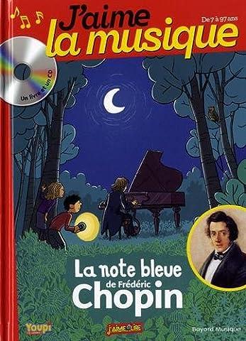 Chansons Marianne - J'aime la musique : La note bleue