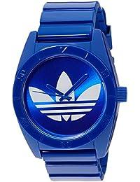 adidas Originals ADH2656 - Reloj analógico de cuarzo para hombre con correa de plástico, color azul
