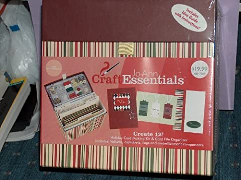 Craft Essentials Holiday Spice Boxed Card Creating Kit by Joann Craft Essentials