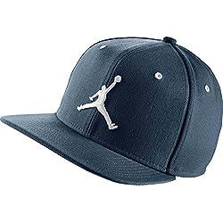 Nike Michael Jordan Jumpman Snapback - Gorra para hombre, color azul, talla única