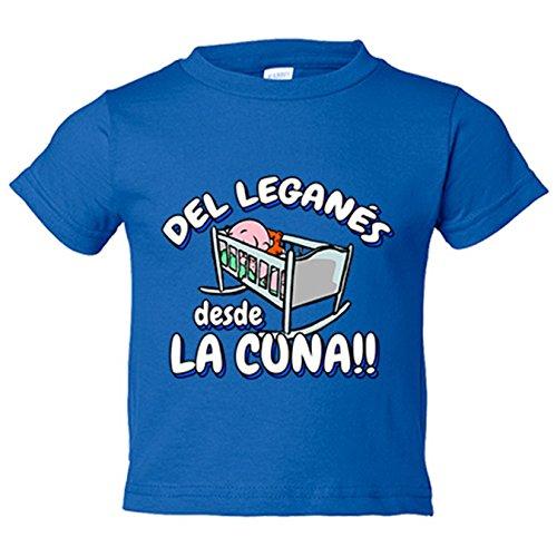 Camiseta niño Leganés desde cuna fútbol - Azul