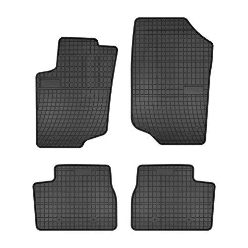 TN-Profimatten Gummifussmatten Auto-Fußmatten Passform GFI0000307A Fiat 500 Autoteppich, Fußmatte
