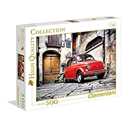 Clementoni 30575 – 500 – Puzzle High Quality Collection 500 pezzi