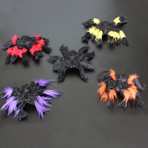 ANHPI Halloween Dekoration Spinne Spukhaus Tricky Dekoration Halloween Requisiten Eine Packung Mit (Für Der Halloween Kostüme Schule Regeln In)