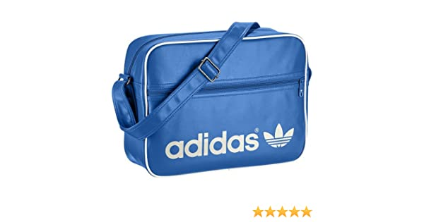 Adidas Originals Adicolor Airline Bag Bluebird - White  Amazon.co.uk  Shoes    Bags a43be71af562d