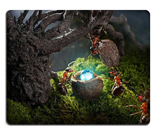 Liili mouse pad Natural rubber Mousepad Image ID: 15362455formiche Hide Treasure Diamond at Night ANT Tales