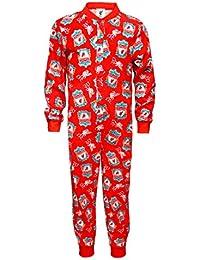 Liverpool FC officiel - Combinaison de pyjama thème football - enfant