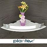 #10: Plantex High Grade Multipurpose Kitchen / Bathroom Corner / Shelf / Rack / Bathroom Accessories (10 x 10 in)