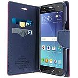 Prezzo Avizar 'Custodia Portafoglio Fancy Goospery per Samsung Galaxy J5–Rosa/Blu Notte–Mercury