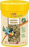 sera O-nip FD-mix Hafttabletten als Leckerbissen mit Mückenlarven, Krill und Tubifex, die durch einen leichten Fingerdruck an der Aquarienscheibe haften, so können die Fische beim Fressen beobachtet