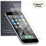 SENDIS [Lot de 2] Film de Protection d' Écran en Verre Trempé pour Apple iPhone 7 / iPhone 6s / iPhone 6 - Film Protecteur Transparent Anti-casse Anti-rayures sans Bulles Haute Définition ( Transparent )
