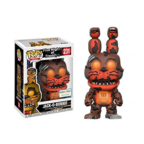 Figura Pop Five Nights at Freddys Jack-O-Bonnie Glow in The Dark Exclusive