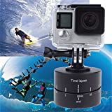 Search Term:Time Lapse, 360 Degree, Auto Rotate, Camera Platform, Tripod Head Base, For Camera SLR,Features:Portable, lightweight, easy to carryDesign for crashworthy packagingMetal casing for bearing360 degree automatic rotationUp and down with univ...
