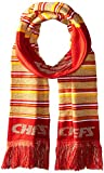 NFL Kansas City Chiefs Glitter Stripe Scarf