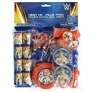 Amscan-395655WWE Mega valor favor Pack