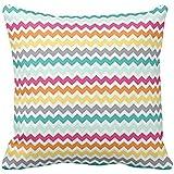 Colorful Chevron Decorative Pillow case 1818