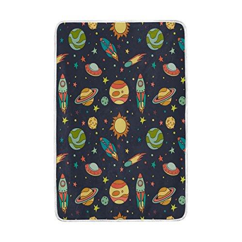 Galaxy Decke, Luxus Weich Großer Überwurf für Bett Sofa Reise Schlafzimmer Wohnzimmer Erwachsenen Girl Boy Herren Frauen 152,4x 228,6cm