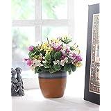 storeindya Decorative Ceramic Planter Indoor Outdoor Flower Pot for Home Garden Lawn Accessory