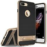 VRS DESIGN Coque iPhone 7Plus, [High Pro Shield Series] Protection de qualité Militaire avec béquille en métal brossé (Parent)...