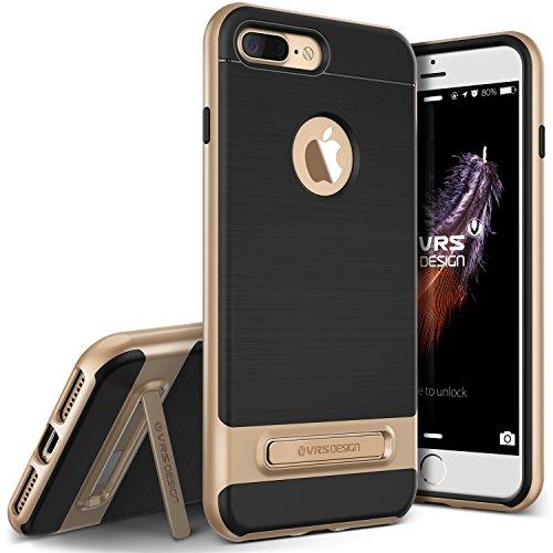 VRS Design iPhone 7Plus Fall, [High Pro Shield Serie] Gebürstet Military Grade Schutz mit Metallständer (Eltern) Cell-shield