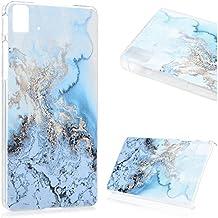 Funda BQ Aquaris E5 HD, Lanveni Carcasa Rígida PC Plástico Super Fit Ultra Slim para BQ Aquaris E5 HD (NO PARA BQ E5 4G LTE) Transparente Protective Case - Diseño Nieve de la Montaña