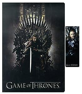 SD toys - Game of Thrones, Trono, Set de libreta y Punto de Libro (SDTHBO02079)