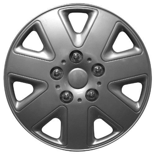 33-cm-inch-Silver-Hurricane-copricerchi-coperture-di-ricambio-universale-R13-coprimozzi-set