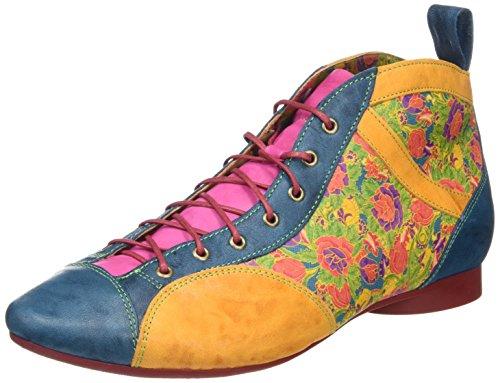Think! Guad 080288, Stivali Desert a gamba corta, imbottitura leggera Donna Multicolore (multicolour 99)