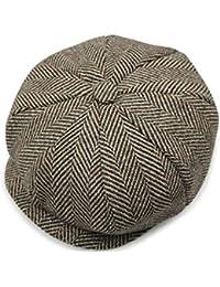 Junebao Retro Cálido Gorra Moda Ajustable Sombreros Octogonales Clásico  Transpirable Sombrero Ocasionales Invierno Boina para Mujer 5c5ca7a8ef2