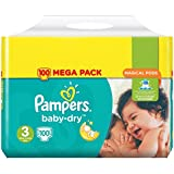 Pampers Baby-Dry pañales