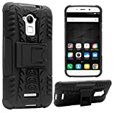 DMG Kick Stand Back Cover Case for Coolpad Note 3 / Coolpad Note 3 Plus (Black)