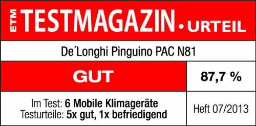 Bild 5:  De'Longhi PAC N 81Mobiles Klimagerät, EEK: A