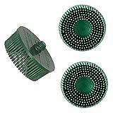 Auprotec® 3M ™ Roloc ™ Original Bristle Disc Ø 50 mm: 3 Stück, K 50 - grün