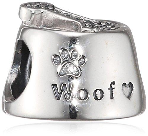 Pandora-Ciondolo-da-donna-motivo-ciotola-per-cani-con-scritta-Woof-argento-925-con-zirconi-trasparenti-791708CZ