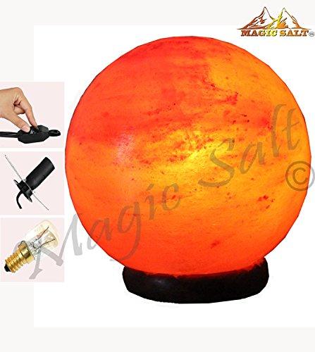 Magic Salt ® Himalayan Crystal Salt Lamp Light - Ball Shaped Glowing...