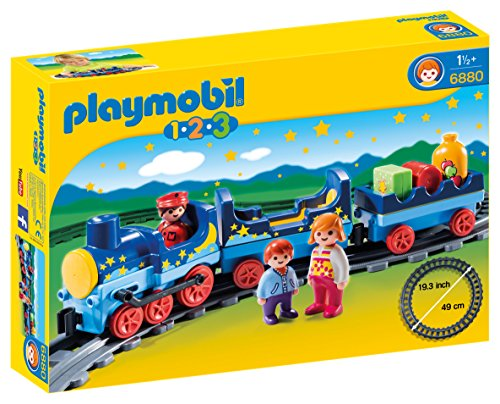 Playmobil 1.2.3 6880 set de juguetes - sets de juguetes (Railway & train, Niño, Multicolor)