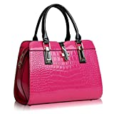 Frauen Totes Mädchen Messenger Bags Damen Crossbody Geldbörsen Leder Clutch Handtasche Berühmte Designer Frauen Tasche Hot Pink