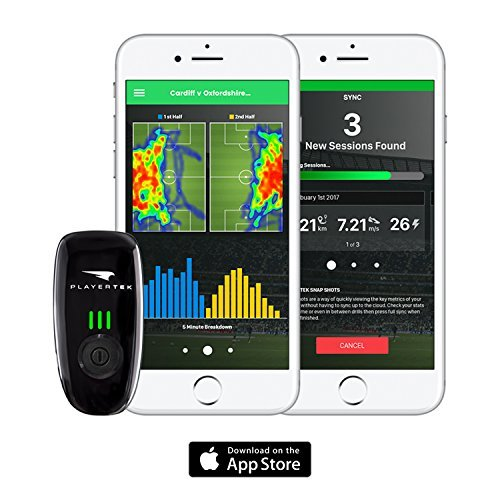 playertek wearable gps tracker for football with iphone ios app to track and improve your game. Black Bedroom Furniture Sets. Home Design Ideas
