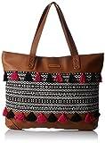 #8: Kanvas Katha Women's Handbag (Tan) (KKHZTA005)