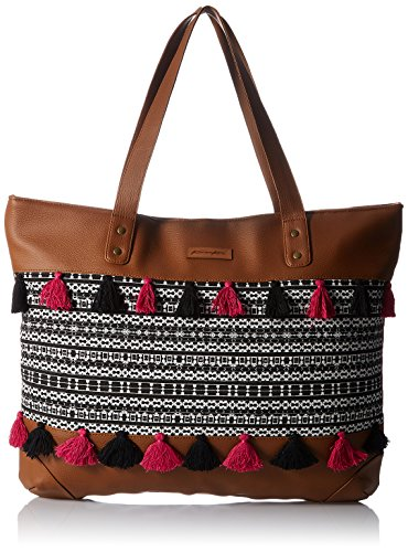Kanvas Katha Women\'s Handbag (Tan) (KKHZTA005)
