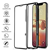 CellBee iPhone X Panzerglasfolie, Curved, mit Applikator, Staubfrei, Notch Unsichtbar, Premium Panzerglas Displayschutzfolie, Full Cover Schutzfolie, Glas Panzerfolie