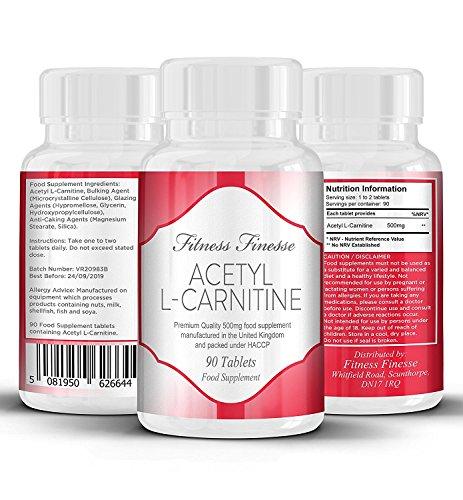 Acetyl-L-Carnitin 500 mg - 90 Tabletten -