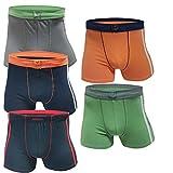 5 10 Stück Boxershorts Jungen Unterwäsche Unterhosen Kinder