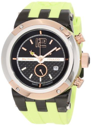 Mulco BLUEMARINE GLASS Cronografo Unisex Reloj MW5-1621-465