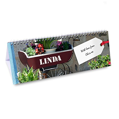 Gardener Calendar Personalised Personalise This Gardener Desk Calendar With And Name Using Up To 12
