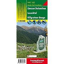 Carte de randonnée : Lienzer Dolomiten, Lesachtal