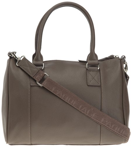 Paquetage Boston Cesar, Sac bowling Marron (Taupe)