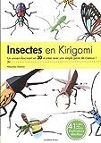 Insectes en kirigami - Un univers fascinant en 3D à créer avec une simple paire de ciseaux !